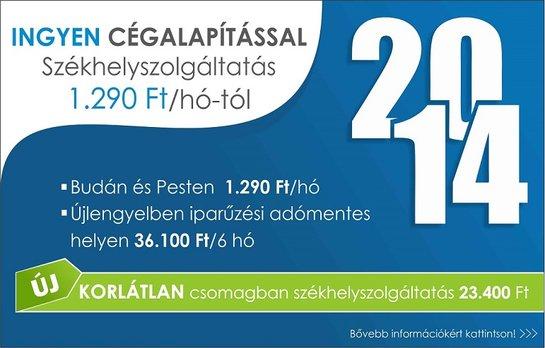 Székhelyszolgáltatás Budapesten a II. és VI. kerületben, Újlengyelben, már korlátlan csomagban is.