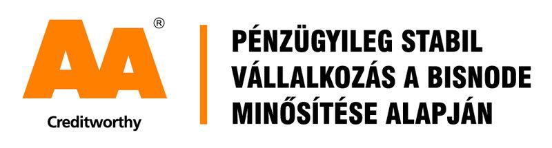 A Bisnode 1908 óta minősíti nemzetközi szinten a cégeket. Az AA-s tanúsítványra a magyar cégek 1.75 %-a jogosult.