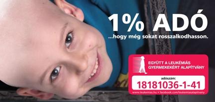 Együtt a Leukémiás Gyermekekért Alapítvány - rendeljen cégalapítást, székhelyszolgáltatást és támogassa forintjaival